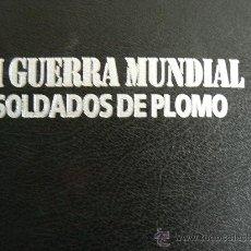 Militaria: II GUERRA MUNDIAL. SOLDADOS DE PLOMO.. Lote 27887393