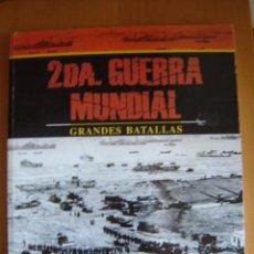 Militaria: GRANDES BATALLAS DE LA 2ª GUERRA MUNDIAL. LA BATALLA RELÁMPAGO. Lote 26453535