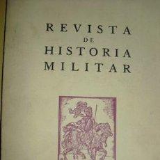 Militaria: REVISTA DE HISTORIA MILITAR INDICE GENERAL - Nº 1 AL 52 SERVICIO HISTORICO MILITAR. Lote 27001363