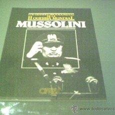 Militaria: MUSSOLINI - EDITORIAL ORBIS. Lote 27508254