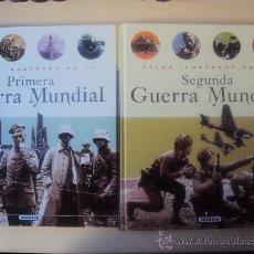 Militaria: ATLAS ILUSTRADO DE LA I GM Y II GM - SUSAETA EDICIONES. Lote 17386269