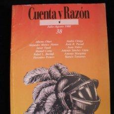 Militaria: LA SEGURIDAD DE OCCIDENTE. REVISTA CUENTA Y RAZON. AGOSTO 1988. Lote 18577834