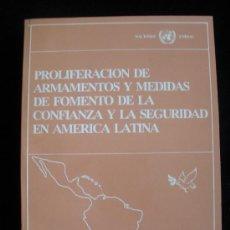 Militaria: PROLIFERACION DE ARMENTOS Y MEDIAS EN AMERICA LATINA. NACIONES UNIDAS. PERU 1994. Lote 18577904