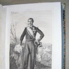Militaria: 1852 BIOGRAFIA DEL T. GENERAL D. ANTONIO VAN-HALEN CONDE DE PERACAMPS 42X31 CMS N. EN SAN FERNANDO. Lote 26967586