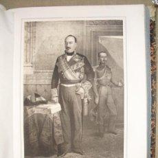 Militaria: 1852 BIOGRAFIA DEL TENIENTE GENERAL DON RAMON DE LA ROCHA DUJI 42X31 CMS. Lote 18928164