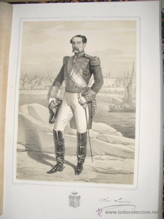 1852 BIOGRAFIA DEL TENIENTE GENERAL DON JOSE LEMERY IBARROLA 42X31 CMS (Militar - Libros y Literatura Militar)