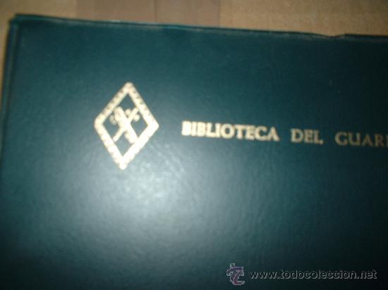 Militaria: libro de biblioteca de la guardia civil - Foto 2 - 26400184