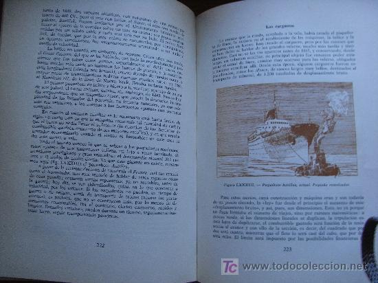 Militaria: JEAN MERRIEN - HISTORIA DE LOS BUQUES - Aymá, 1960. - Excelente papel ahuesado - Foto 3 - 27573724