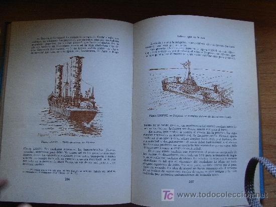 Militaria: JEAN MERRIEN - HISTORIA DE LOS BUQUES - Aymá, 1960. - Excelente papel ahuesado - Foto 4 - 27573724
