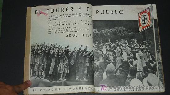 Militaria: Alemania en sus instituciones sociales. Libro hitleriano hecho en Barcelona en 1940. IIWW. - Foto 5 - 27611207
