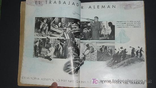 Militaria: Alemania en sus instituciones sociales. Libro hitleriano hecho en Barcelona en 1940. IIWW. - Foto 7 - 27611207