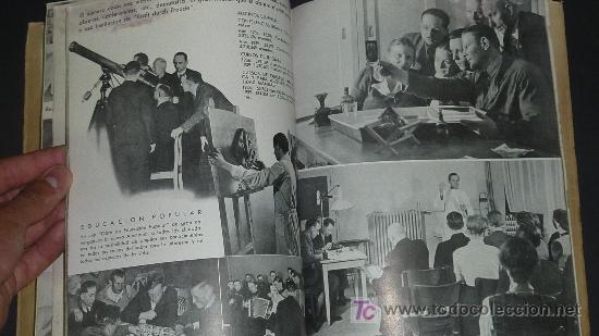 Militaria: Alemania en sus instituciones sociales. Libro hitleriano hecho en Barcelona en 1940. IIWW. - Foto 8 - 27611207
