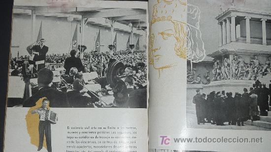 Militaria: Alemania en sus instituciones sociales. Libro hitleriano hecho en Barcelona en 1940. IIWW. - Foto 9 - 27611207