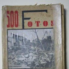 Militaria: 500 FOTOS DE LA GUERRA VALLADOLID (1938). Lote 27581159