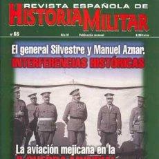 Militaria: REVISTA ESPAÑOLA DE HISTORIA MILITAR 66. Lote 20969922