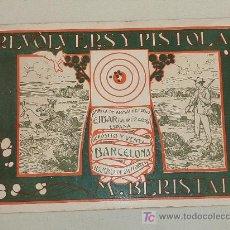 Militaria: LIBRO REVOLVERS Y PISTOLAS M BERISTAIN. FABRICA DE ARMAS DE FUEGO EIBAR. GUERRA CIVIL.. Lote 24975064