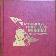 Militaria: 70 ANIVERSARIO DE LA II GUERRA MUNDIAL. SELLOS Y BILLETES.. ENVIO CERTIFICADO GRATIS¡¡¡. Lote 27611788