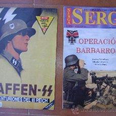 Militaria: ESPECIAL SERGA N,4 Y EXTRA DEFENSA WAFFEN SS NR,21. Lote 26989425