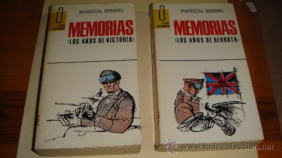 MEMORIAS MARISCAL ROMMEL (Militar - Libros y Literatura Militar)