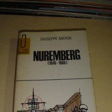 Militaria: NUREMBERG. Lote 26614471
