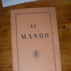 EL MANDO.