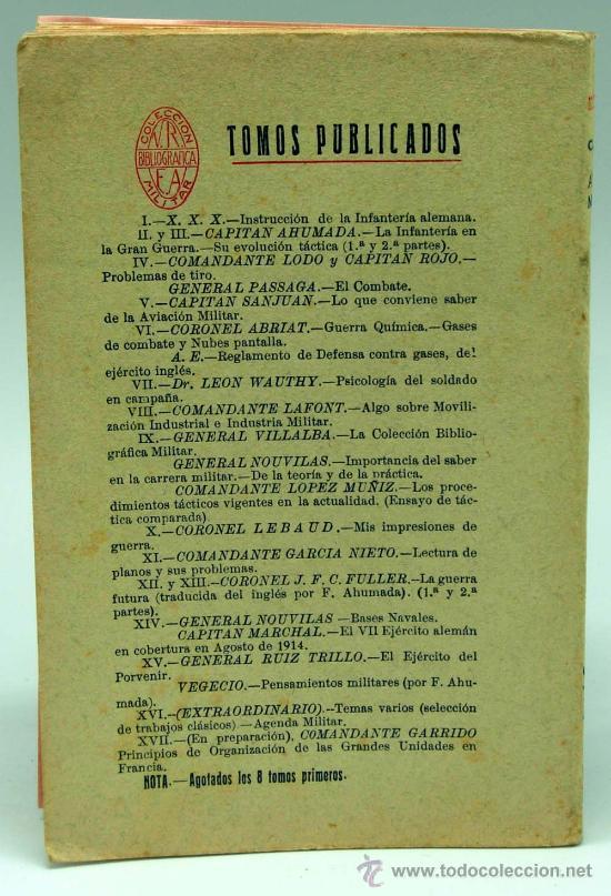 Militaria: Agenda militar para 1930 Clásicos Colección Bibliográfica Militar Tomo XVI Imp Tea Toledo Dic 1929 - Foto 4 - 22808722