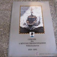 Militaria: ALEMANIA - FLOTILLA DE DRAGAMINAS 1958/85 - DATOS TECNICOS , FOTOGRAFIAS , PLANOS , EN ALEMAN. Lote 23126771