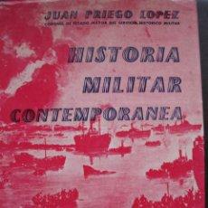 Militaria: II GUERRA MUNDIAL HISTORIA MILITAR CONTEMPORANEA FOTOS Y MAPAS TAPAS DURAS . Lote 26139372