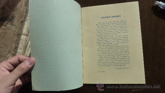 Militaria: Raro libro en defensa de la avenida del generalisimo. Amigos de Barcelona. 1948. - Foto 3 - 24157080