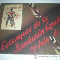 Militaria: ESTAMPAS DE LA REVOLUCION ESPAÑOLA - DIBUJOS SIM. Lote 27068811