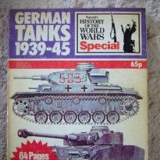 Militaria: GERMAN TANKS 1939 - 45. Lote 26653128