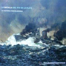 Militaria: GRAF SPEE BATALLA DEL RIO DE LA PLATA LA HISTORIA NEOCELANDESA. Lote 24659232