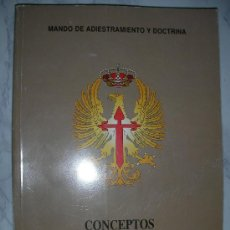 Militaria: CONCEPTO PARA EL COMBATE - MANDO DE ADIESTRAMIENTO Y DOCTRINA. Lote 178673636
