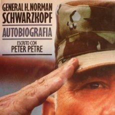 Militaria: GENERAL H. NORMAN SCHWARZKOPF / AUTOBIOGRAFIA . Lote 35783035