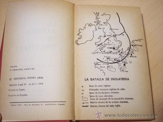 Militaria: LA BATALLA DE INGLATERRA (KARL VON VEREITER) EDITORIAL FERMA - 1969 (ILUSTRADO) - Foto 3 - 25888211
