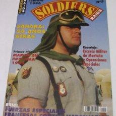Militaria: SOLDIERS RAIDS Nº 5 - SÁHARA: 20 AÑOS ATRÁS - FUERZAS ESPECIALES FRANCESAS - 1996. Lote 24278081
