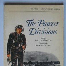 Militaria: THE PANZER DIVISIONS, OPREY 1973. VER MAS FOTOS.. Lote 27902359