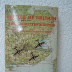 Militaria: BATTLE OF BRITAIN THE FORGOTEN MONTTHS NOVEMBER AND DECEMBER 1940. Lote 27898470