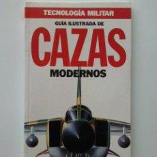 Militaria: GUIA ILUSTRADA DE CAZAS MODERNOS - TECNOLOGIA MILITAR Nº 1 - ORBIS. Lote 28068052