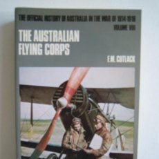 Militaria: THE AUSTRALIAN FLYING CORPS - THE OFICIAL HISTORY OF AUUSTRALIAN IN THE WAR OF 1914/1918 VOLUM III. Lote 28350438