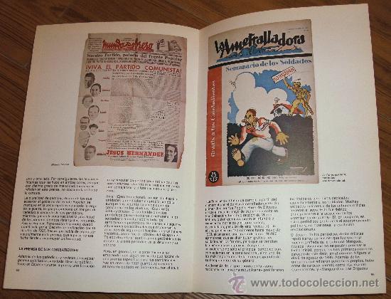Militaria: CATALOGO DE LA GUERRA CIVIL ESPAÑOLA GUERRA CIVIL. Editado en Madrid, Ministerio de Cultura,1986 - Foto 3 - 26503084