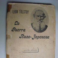 Militaria: 1905 LA GUERRA RUSO-JAPONESA LEON TOLSTOI. Lote 28371557