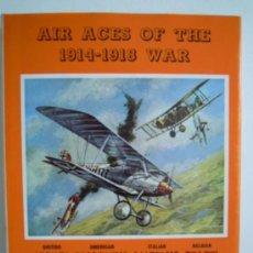 Militaria: AIR ACES OF 1914/1918 WAR. Lote 28473647