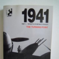 Militaria: 1941 PART 1 - THE BATTLE OF BRITAIN TO THE BLITZ - THE TURNING POINT. Lote 28491317