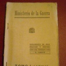 Militaria: MINISTERIO DE GUERRA. Lote 28508513