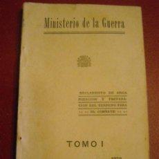 Militaria: MINISTERIO DE LA GUERRA. Lote 28508661