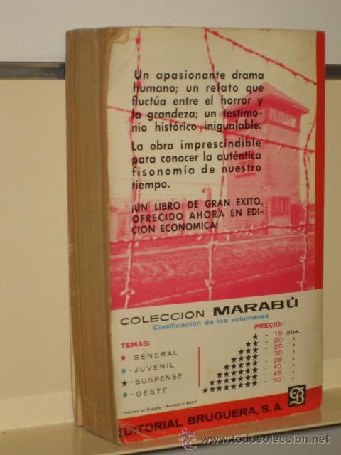 Militaria: EL PROCESO DE NUREMBERG - BALANCE TRAGICO DEL III REICH - EDITORIAL BRUGUERA - Foto 2 - 28523149