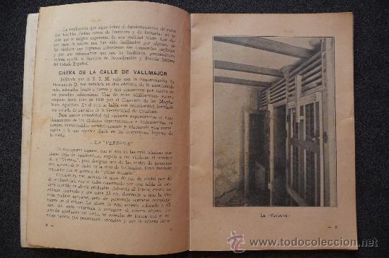 Militaria: (JX-807)LIBRETO COMO FUNCIONABAN LAS CHECAS DE BARCELONA-GUERRA CIVIL - Foto 3 - 28657963