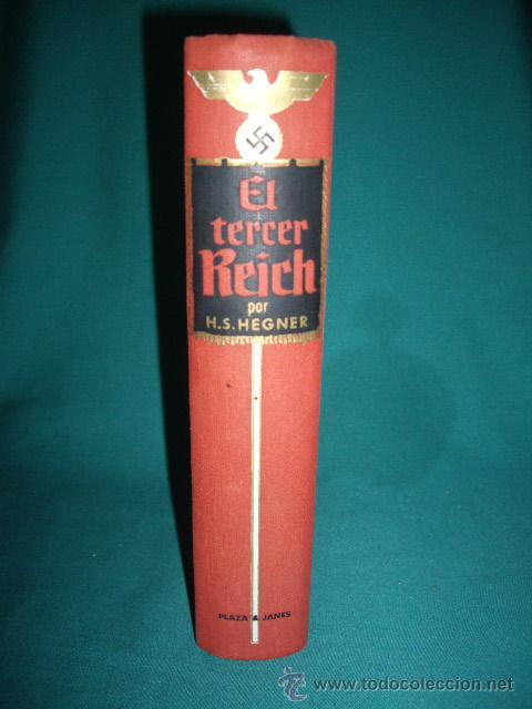 Militaria: HITLER - DIE REICHSKANZIEL VON 1933 BIS 1945 - EL TERCER REICH - Foto 2 - 28709419