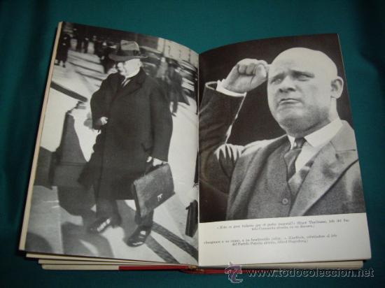 Militaria: HITLER - DIE REICHSKANZIEL VON 1933 BIS 1945 - EL TERCER REICH - Foto 4 - 28709419